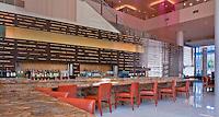 "JW Marriott, Lobby Bar & Lounge, Los Angeles CA, Architectural; Hotel, ""LA LIVE"" Hospitality, No One  Calif. California CA;  Downtown, Los Angeles, LA; architecture;"