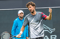 Den Bosch, Netherlands, 13 June, 2017, Tennis, Ricoh Open, Robin Haase (NED) gets frustrated<br /> Photo: Henk Koster/tennisimages.com
