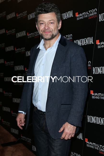 LOS ANGELES, CA, USA - NOVEMBER 09: Andy Serkis arrives at the 8th Annual Hamilton Behind The Camera Awards held at The Wilshire Ebell Theatre on November 9, 2014 in Los Angeles, California, United States. (Photo by Xavier Collin/Celebrity Monitor)