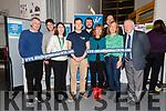 The launch of Fuinnimh 2030 by the Dingle Hub at the Pobalscoil Chorca Dhuibhne: Seamus O'Hara (NEWKD), Deirdre de Bhailís (Dingle Hub), Evan Boyle, Conor McGookin (MaREI), Niall O'Leary, Clare Watson (MaREI), Claire McElligott (ESB Networks), Brian O Gallaghair and Brendan Tuohy.