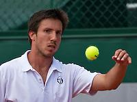Paris, France, 25 June, 2016, Tennis, Roland Garros,  Igor Sijsling (NED)<br /> Photo: Henk Koster/tennisimages.com
