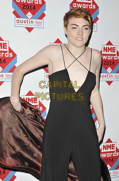 LONDON, ENGLAND - FEBRUARY 26: Chloe Howl attends the NME Awards 2014, O2 Academy Brixton, Stockwell Rd., on Wednesday February 26, 2014 in London, England, UK.<br /> CAP/CAN<br /> &copy;Can Nguyen/Capital Pictures<br /> <br /> CAP/CAN<br /> &copy;Can Nguyen/Capital Pictures