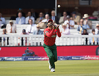 Tamim Iqbal (Bangladesh) celebrates the wicket of Zaman during Pakistan vs Bangladesh, ICC World Cup Cricket at Lord's Cricket Ground on 5th July 2019