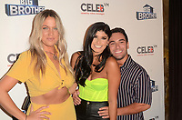 """LOS ANGELES - SEP 26:  Christie Murphy, Analyse Talavera, Tommy Bracco at the """"Big Brother"""" 21 Finale Party at the Edison on September 26, 2019 in Los Angeles, CA"""