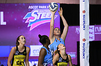 4th July 2020, Auckland, New Zealand;  Jennifer O'Connell.<br /> Central Pulse versus Southern Steel. ANZ Premiership Netball. Auckland Netball Centre, Saturday 4 July 2020.