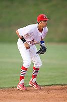 Shortstop Nico Vasquez (26) of the Johnson City Cardinals on defense at Howard Johnson Field in Johnson City, TN, Thursday July 3, 2008.
