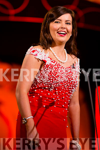 Derry Rose Eimear Anderson at the Monday night selection of the 2015 Rose of Tralee International Festival, held in the Dome, Tralee.