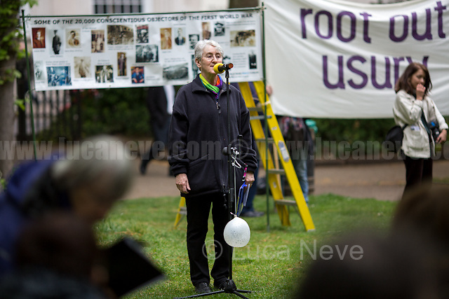 Valerie Flessati (Peace activist, author and wife of Bruce Kent).<br />