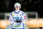 Stockholm 2014-12-02 Bandy Elitserien Hammarby IF - IFK V&auml;nersborg :  <br /> V&auml;nersborgs Emil Viklund med en boll p&aring; klubban under matchen mellan Hammarby IF och IFK V&auml;nersborg <br /> (Foto: Kenta J&ouml;nsson) Nyckelord:  Elitserien Bandy Zinkensdamms IP Zinkensdamm Zinken Hammarby Bajen HIF IFK V&auml;nersborg portr&auml;tt portrait