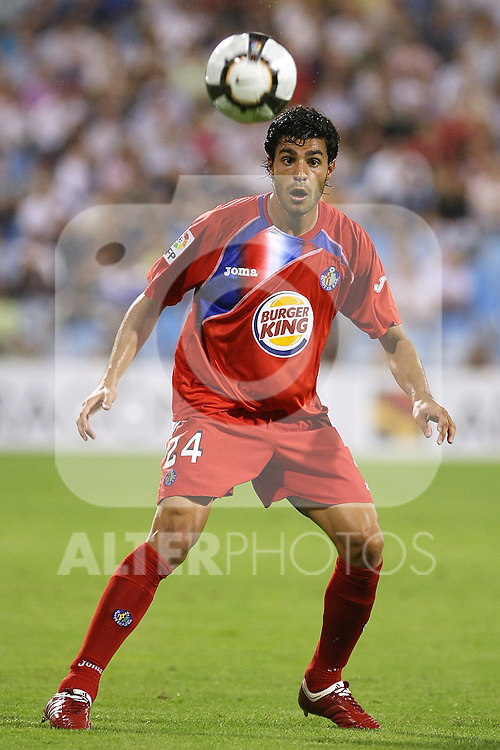 Gatafe's Miguel Angel Torres during La Liga match. September 27 2009. (ALTERPHOTOS/Acero).