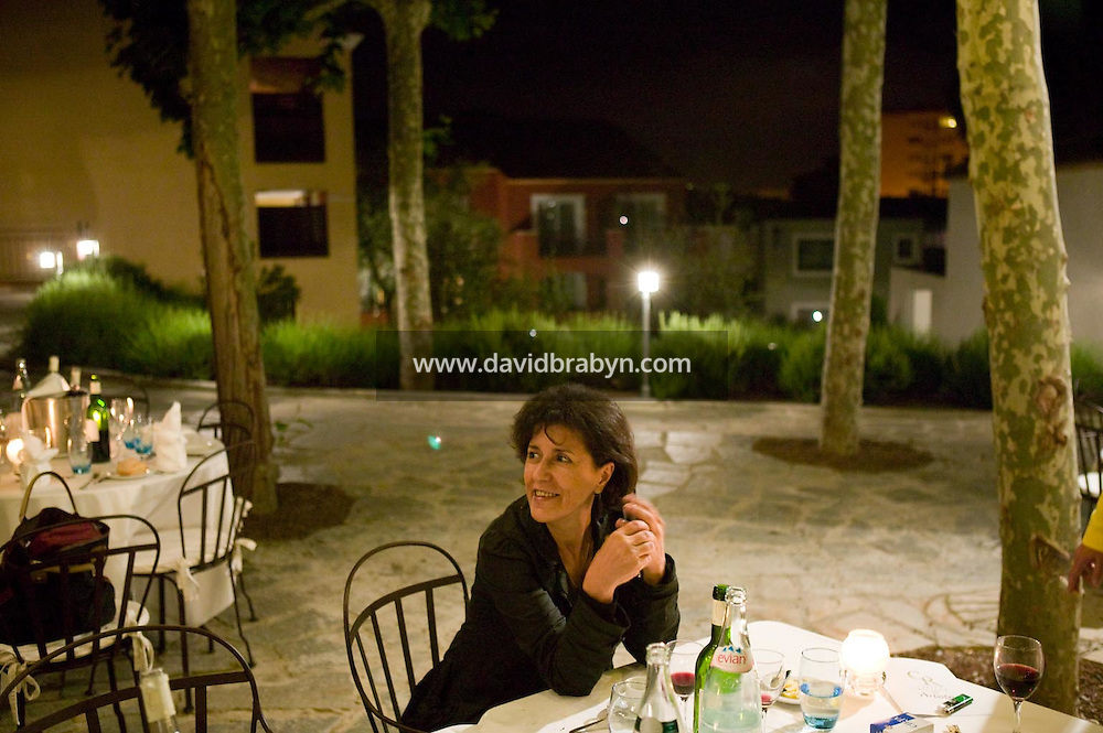 Yamina Bachir, 20 ans de la Fondation Groupama-Gan pour le Cinema, Le Cannet, France, 17 mai 2007.
