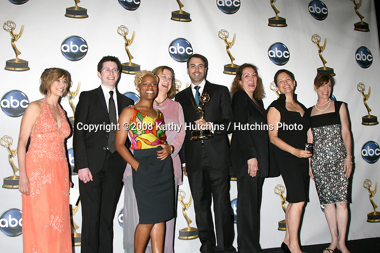 One Life to Life Writers  in the Press Room after they won an Emmy  at the Daytime Emmys 2008 at the Kodak Theater in Hollywood, CA on.June 20, 2008.©2008 Kathy Hutchins / Hutchins Photo .