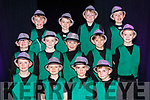 Performers from the Currow NS parents association musical in Killarney Racecourse on Sunday front row l-r: Michael Daly, Shane O'Rourke, Padraig o'Connor, Charlie Brosnan.  Middle row: Sean Scanlon, Cian Pembroke, Michael Curran, Aaron McCarthy, Michael McCarthy. Back row: Rory O'Connor, Ben Brosnan, Harry Crowley and Sean Dennehy