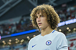 Chelsea Defender David Luiz getting into the field during the International Champions Cup 2017 match between FC Internazionale and Chelsea FC on July 29, 2017 in Singapore. Photo by Marcio Rodrigo Machado / Power Sport Images