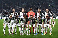 Calcio, Serie A: Juventus - Milan, Turin, Allianz Stadium, November 10, 2019.<br /> Juventus' players pose for the pre match photograph prior to the Italian Serie A football match between Juventus and Milan at the Allianz stadium in Turin, November 10, 2019.<br /> UPDATE IMAGES PRESS/Isabella Bonotto