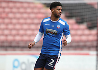 Bolton Wanderers' Mark Little during the pre-match warm-up <br /> <br /> Photographer Rachel Holborn/CameraSport<br /> <br /> The EFL Sky Bet Championship - Barnsley v Bolton Wanderers - Saturday 14th April 2018 - Oakwell - Barnsley<br /> <br /> World Copyright &copy; 2018 CameraSport. All rights reserved. 43 Linden Ave. Countesthorpe. Leicester. England. LE8 5PG - Tel: +44 (0) 116 277 4147 - admin@camerasport.com - www.camerasport.com