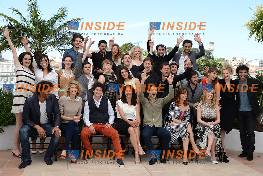 Jeunes Talents ADAMI .Cannes 20/5/2013 .Festival del Cinema di Cannes .Foto Panoramic / Insidefoto .ITALY ONLY