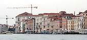 Venice, Italy - March 24, 2006 -- Waterfront facing the Grand Canal in Venice, Italy on March 24, 2006.  .Credit: Ron Sachs / CNP