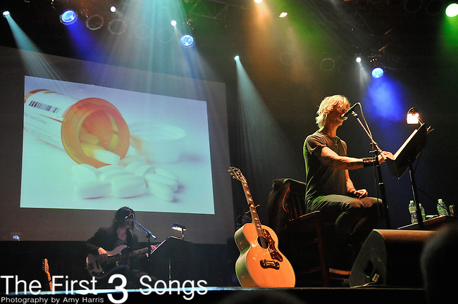 """Duff McKagan of Guns & Roses reads his memoir """"It's So Easy"""" at the Cleveland House Of Blues on April 13, 2012."""