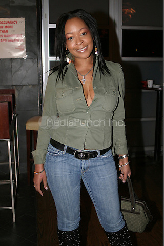 Monifah at the after party for the play called &quot;Issues We All Got Them&quot; at the Zip Code night club in New York City.<br />