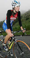 16 JUN 2007 - EDINBURGH, UK - Radka Vodickova (CZE) - EUROPEAN ELITE WOMENS DUATHLON CHAMPIONSHIPS. (PHOTO (C) NIGEL FARROW)