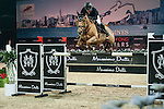 Gerco Schroder of Netherlands riding Glock's Prince de Vaux in action at the the Massimo Dutti Trophy during the Longines Hong Kong Masters 2015 at the AsiaWorld Expo on 15 February 2015 in Hong Kong, China. Photo by Juan Flor / Power Sport Images