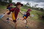 School pupils running alongside a Batonbearer as the Queen's Baton Relay visited Coppabella. In the host state of Queensland the Queen's Baton will visit 83 communities from Saturday 3 March to Wednesday 4 April 2018. As the Queen's Baton Relay travels the length and breadth of Australia, it will not just pass through, but spend quality time in each community it visits, calling into hundreds of local schools and community celebrations in every state and territory. The Gold Coast 2018 Commonwealth Games (GC2018) Queen's Baton Relay is the longest and most accessible in history, travelling through the Commonwealth for 388 days and 230,000 kilometres. After spending 100 days being carried by approximately 3,800 batonbearers in Australia, the Queen's Baton journey will finish at the GC2018 Opening Ceremony on the Gold Coast on 4 April 2018.