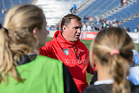 Bridgeview, IL - Saturday April 22, 2017: Rory Dames after a regular season National Women's Soccer League (NWSL) match between the Chicago Red Stars and FC Kansas City at Toyota Park.