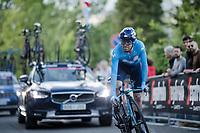 José Joaquín Rojas (ESP/Movistar) up the San Luca climb<br /> <br /> Stage 1 (ITT): Bologna to Bologna/San Luca (8.2km)<br /> 102nd Giro d'Italia 2019<br /> <br /> ©kramon