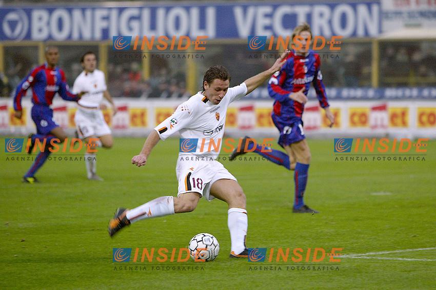 Bologna 23/11/2003 <br /> Bologna Roma 0-4 <br /> Il gol del 4-0 di Antonio Cassano (Roma)<br /> Foto Andrea Staccioli Insidefoto