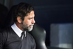 Enrique Sanchez Flores of RCD Espanyol during the match of La Liga between Real Madrid and RCE Espanyol at Santiago Bernabeu  Stadium  in Madrid , Spain. February 18, 2016. (ALTERPHOTOS/Rodrigo Jimenez)