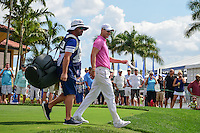 Martin Kaymer (DEU) departs the first tee during round 3 of the Honda Classic, PGA National, Palm Beach Gardens, West Palm Beach, Florida, USA. 2/25/2017.<br /> Picture: Golffile | Ken Murray<br /> <br /> <br /> All photo usage must carry mandatory copyright credit (&copy; Golffile | Ken Murray)