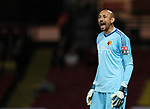 Watford's Heurelho Gomes in action during the Carabao cup match at Vicarage Road Stadium, Watford. Picture date 22nd August 2017. Picture credit should read: David Klein/Sportimage