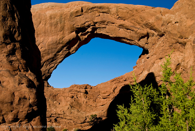 Arches National Park Arches - South Window Arch