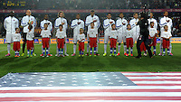 PRAGUE, Czech Republic - September 3, 2014: USA's starting Eleven during the international friendly match between the Czech Republic and the USA at Generali Arena.