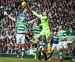 Craig Gordon punches clear from Martyn Waghorn