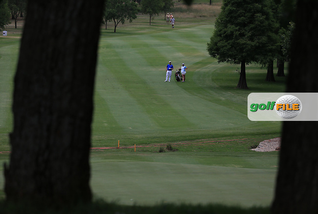 View down the 7th fairway during Round Two of the 2016 BMW SA Open hosted by City of Ekurhuleni, played at the Glendower Golf Club, Gauteng, Johannesburg, South Africa.  08/01/2016. Picture: Golffile | David Lloyd<br /> <br /> All photos usage must carry mandatory copyright credit (&copy; Golffile | David Lloyd)