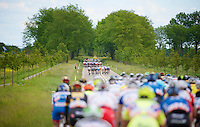 the wind splits the peloton into 3 echelons<br /> <br /> 3rd World Ports Classic 2014<br /> stage 1: Rotterdam - Antwerpen 195km