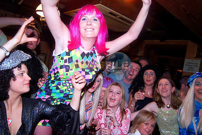 Aiofa O Kelly with Friends on her Hen Night in The Westcourt...Pic Tony Campbell/Newsfile