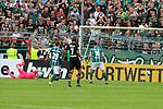 11.08.2019, Stadion Lohmühle, Luebeck, GER, DFB-Pokal, 1. Runde VFB Lübeck vs 1.FC St. Pauli<br /> <br /> DFB REGULATIONS PROHIBIT ANY USE OF PHOTOGRAPHS AS IMAGE SEQUENCES AND/OR QUASI-VIDEO.<br /> <br /> im Bild / picture shows<br /> Tor zum 3:3 . Torschütze/Torschuetze Ahmet Arslan  (VfB Luebeck) nicht im Bild trifft zum 3:3 ins Tor von Torwart Robin Himmelmann (FC St. Pauli).<br /> <br /> Foto © nordphoto / Freund