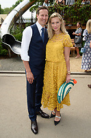 Bredan Cole and wife, Zoe at the Chelsea Flower Show 2018, London, UK. <br /> 21 May  2018<br /> Picture: Steve Vas/Featureflash/SilverHub 0208 004 5359 sales@silverhubmedia.com