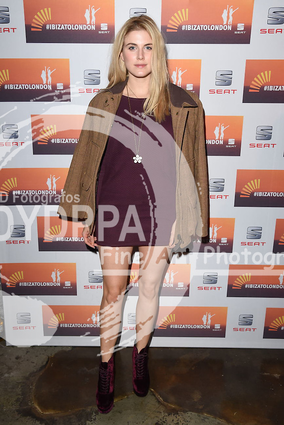 Ashley James<br /> attends the SEAT Ibiza launch party at Carousel, London<br /> <br /> &copy;Ash Knotek  D3019  29/09/2015