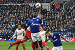16.03.2019, VELTINS-Arena, Gelsenkirchen, GER, DFL, 1. BL, FC Schalke 04 vs RB Leipzig, DFL regulations prohibit any use of photographs as image sequences and/or quasi-video<br /> <br /> im Bild Strafraumszene . Torchance von Breel Embolo (#36, FC Schalke 04) vor Willi Orban (#4, RB Leipzig) <br /> <br /> Foto © nph/Mauelshagen