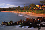 Maui Prince Resort at sunet