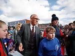 24.3.2018: Rangers legends match:<br /> Mark Hateley arrives for the match