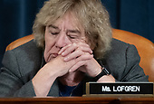 United States Representative Zoe Lofgren (Democrat of California), attends a US House Judiciary Committee hearing on the impeachment of US President Donald Trump on Capitol Hill in Washington, DC, December 4, 2019.<br /> Credit: Saul Loeb / Pool via CNP