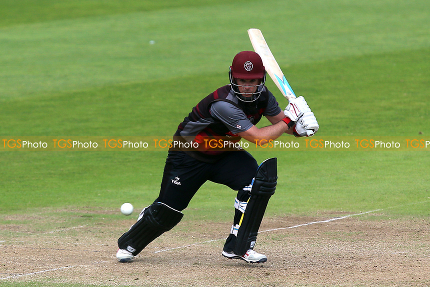 Jim Allenby in batting action for Somerset during Somerset vs Essex Eagles, Royal London One-Day Cup Cricket at The Cooper Associates County Ground on 14th May 2017