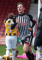 Par's Lawrence Shankland celebrates after he scores their first goal.