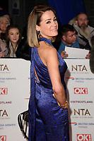 Natalie Pinkham<br /> arriving for the National TV Awards 2019 at the O2 Arena, London<br /> <br /> ©Ash Knotek  D3473  22/01/2019