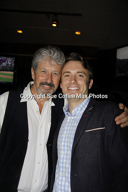 "Charles Shaughnessy ""King Francis"" & James Snyder - Paper Mill Playhouse presents the world premiere of the the new musical Ever After on May 31, 2015 with curtain call followed by gala at Charlie Bowns in Millburn, New Jersey (Photos by Sue Coflin/Max Photos)"